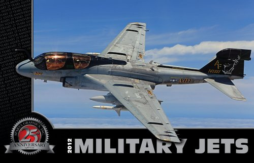 Sparta Military Jets - 2012 Military Jets Deluxe Wall Calendar