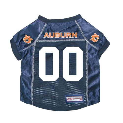 Auburn Tigers Premium NCAA Pet Dog Jersey w/ Name Tag - Boxer Auburn