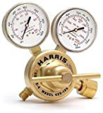 Harris 425-50-580 Pressure Regulator, 0 - 50 PSIG, Brass