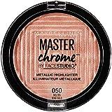 Maybelline New York Facestudio Master Chrome Metallic Highlighter, Molten Rose Gold, 0.24 Ounce