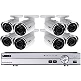 Lorex 4K 8 Channel 2TB DVR with 8 2K Outdoor Cameras, 150ft night vision