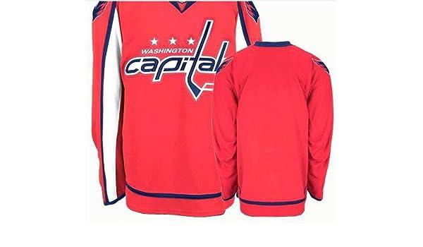 9e0d5feb942 Amazon.com : Wholesale Washington Capitals Blank Red Hockey Jersey NHL  Authentic Jerseys Sports Jerseys Size 48, 50, 52, 54, 56 : Sports Fan  Hockey ...