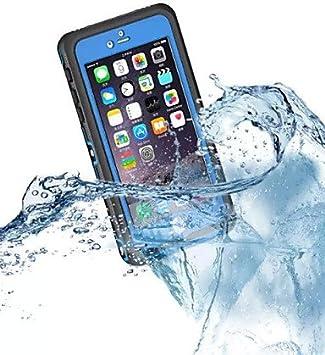 a prueba de polvo caja estanca caso caso de la cubierta a prueba de golpes armadura dura protectora para iPhone6 ??manzana m¨¢s (colores , purple: Amazon.es: Electrónica