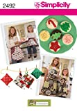 Simplicity Sewing Pattern 2492 Aprons, A (Small - Large)