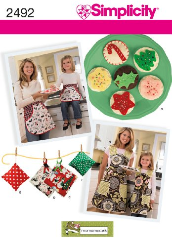 Simplicity Sewing Pattern 2492 Aprons, A (S - L / S - L)
