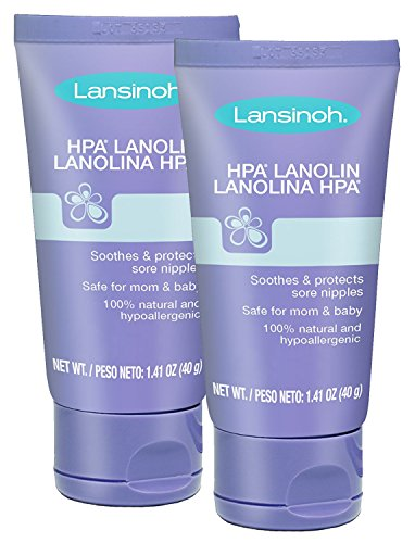 Lansinoh Breastfeeding Salve NdpBNB - HPA Lanolin, 2 Pack
