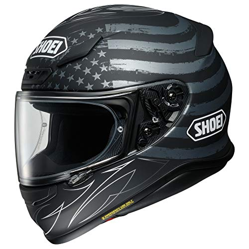 Shoei RF-1200 Full Face Motorcycle Helmet Dedicated TC-5 Matte Grey/Black Large (More Size Options) (Flag Motorcycle Helmet)