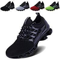 VOEN Mens Casual Walking Shoes Blade Outdoor Sport Sneakers Mesh Breathable Fashion Shoe