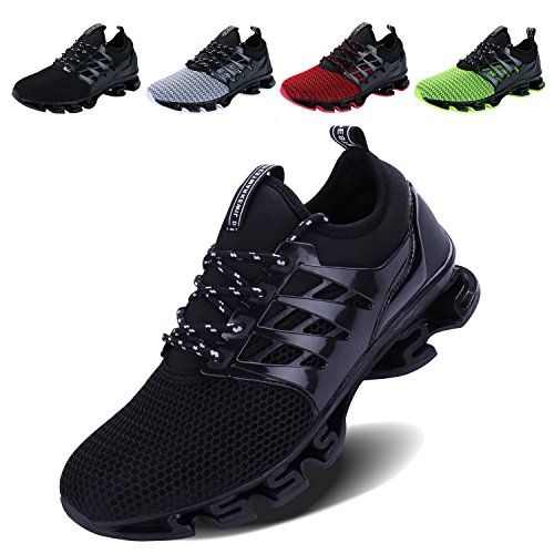 VOEN Casual Springblade Lace-up Shoes for Men Boy for Running Hiking Climbing