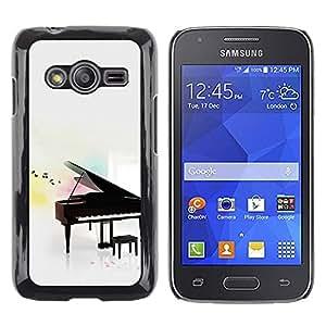 iKiki Tech / Estuche rígido - Piano - Samsung Galaxy Ace 4 G313 SM-G313F