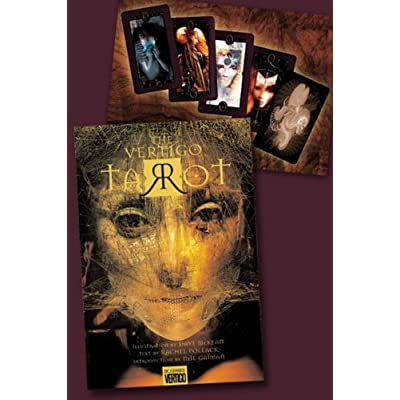Vertigo: Tarot Deck Set (78 Cards): Toys & Games