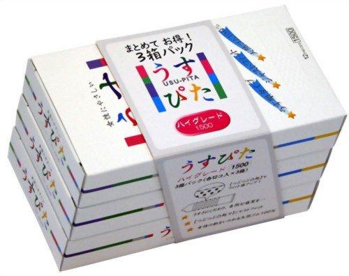 Japan Medical Usu Pita   Condoms   High Grade 1500 12pc x3