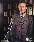 Anthony Stewart Head Signed / Autographed 8x10 Glossy photo from Buffy The Vampire Slayer, portraying Giles the watcher. Includes Fanexpo Fanexpo Certificate of Authenticity and Proof. Entertainment Autograph Original.