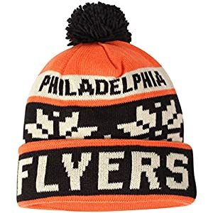 NHL Men's Face-Off Winter Cuffed Pom Knit Beanie