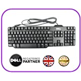 SLIM DELL USB KEYBOARD MODEL NO: RT7D50 QWERTY UK KEYBOARD