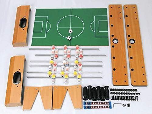 Nicolas Máquina De Futbolín, Futbolín De Juguete 6, Juego Interactivo Entre Futbolín Y Futbolín. (Color : Wood Color) : Amazon.es: Juguetes y juegos