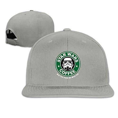 Custom Unisex-Adult Mask Coffe Casual Baseball Caps Hat Ash