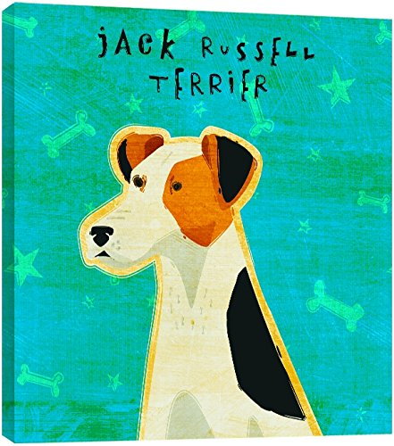 Tree-Free Greetings 83986 Eco Art Wall Plaque, 11.25 by 11.25 by 0.5-Inch, Jack Russell Terrier
