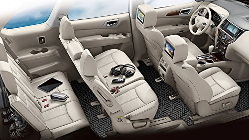 ToughPRO Nissan Pathfinder Floor Mats +3rd Row Mat - All ...