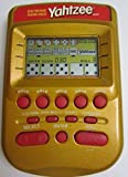 YAHTZEE Electronic Handheld Game RED/GOLD EDITION (Includes Instructions)