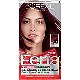 L'Oréal Paris Feria Permanent Hair Color, R37 Blowout Burgundy (Deep Burgundy)