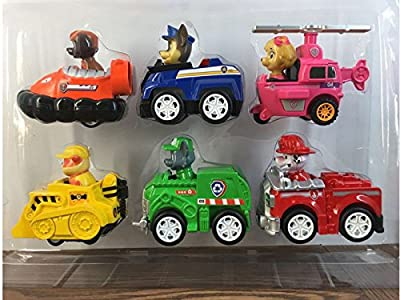 COMPLETE SET of 6 Racer Pups Characters Figures toys by COMPLETE SET of 6 Racer Pups Characters Figures toys that we recomend personally.