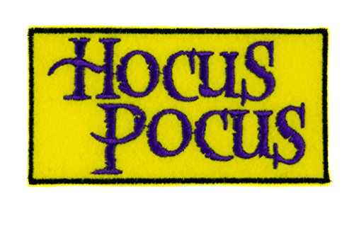 Hocus Pocus Patch Iron on Applique Alternative Clothing Halloween Cult Classic Movie (Cult Halloween Movies)