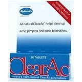 Hylands Clear Ac Tablet - 50 per pack -- 6 packs per case.