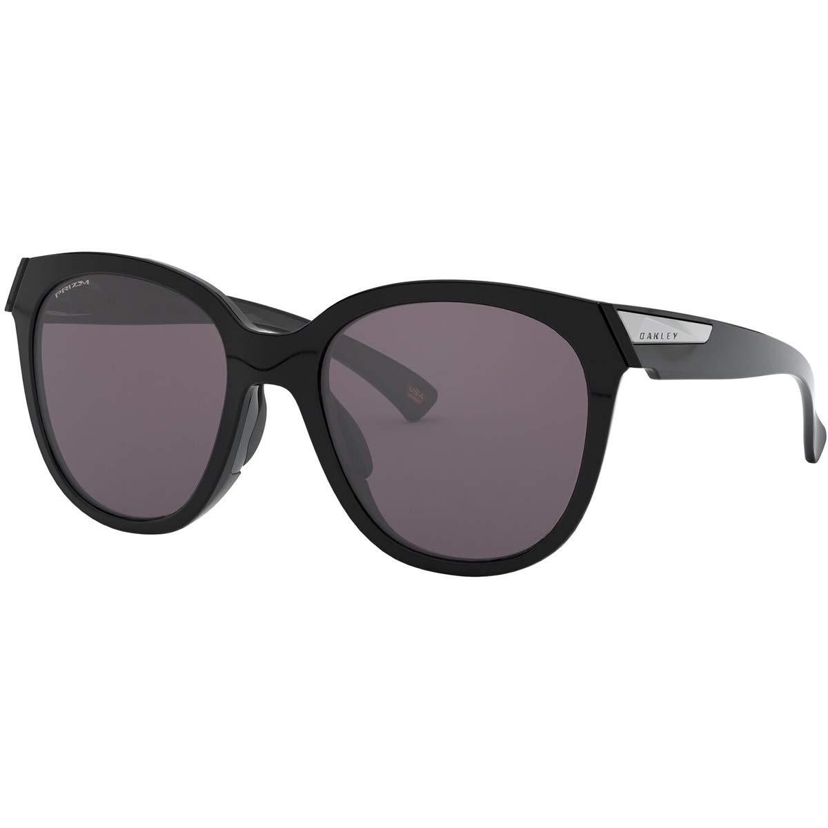 Oakley Women's Low Key Sunglasses,OS,Polished Black/Prizm Grey by Oakley