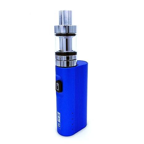 SZYSD Cigarrillo Electrónico, 50W Función de Relleno a Tope Atomizer, 2ml Atomizadore Vapeador Kit