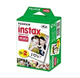 Fujifilm Instax Mini Instant Film (Twin Pack) Total: 180 Pictures (9 Pack)