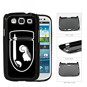 Angry Bullet With Fist Cartoon Hard Plastic Snap On Cell Phone Case Samsung Galaxy S3 SIII I9300