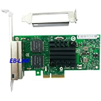Intel82580 I340-T4 E1G44HT E1G44HTBLK Quad Ports Gigabit Ethernet Server Adapter