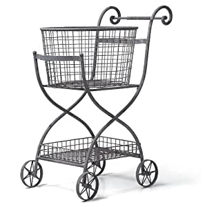 Foreside Toulouse Shopping Cart, KD