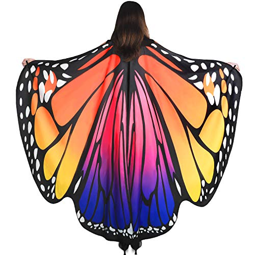 YXwin Costumes for Women Purple Butterfly Gifts for Women Halloween ()