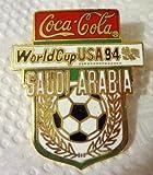 SAUDI ARABIA World Cup Soccer 1994 USA Collectible Coca-Cola Hat Lapel Pin