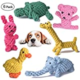 Dog Rope Toys Cute Animals Design, Cotton Puppy Toys for Small Dogs....