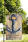 Piazza Pisano Nautical Anchor Personalized Yard Sign
