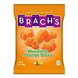 Brachs Mandarin Orange Slice Candy, 10.5 Ounce - 12 per case.