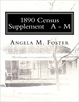 1890 Census Supplement A - M: Volume 1