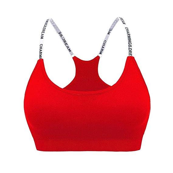 CHIYEEE Sujetador Deportivo para Mujeres Yoga Top Corriendo Gimnasio Ropa: Amazon.es: Ropa y accesorios