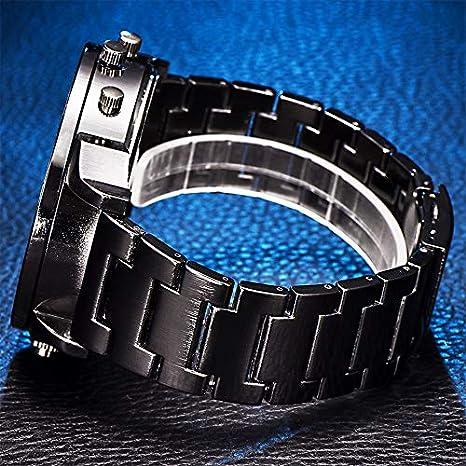 Reloj de pulsera para hombre Liusdh de acero inoxidable con ...