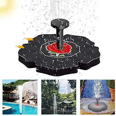 Leoie - Bomba de Fuente de baño con energía Solar para regar el jardín o el Patio: Amazon.es: Hogar