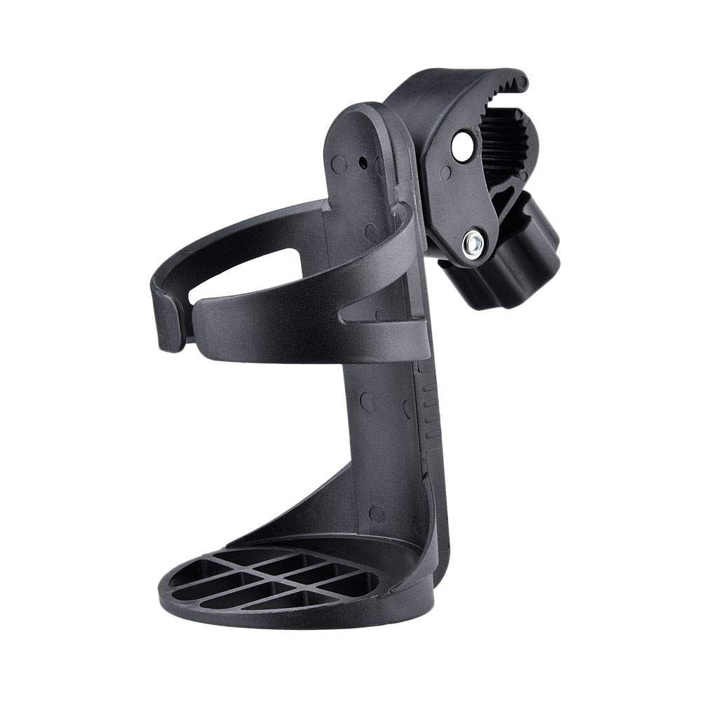 360 Degrees Universal Pushchair Bicycle Strollers Cup Holder ProCIV Bike Cup Holder fits Baby Stroller Black Bike AUVSTA Wheelchair Cup Holders Mountain Bike and Wheelchair