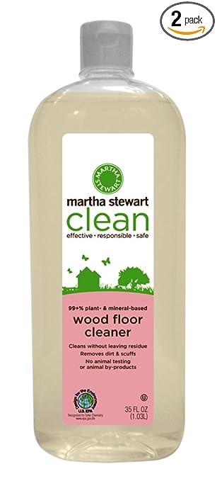 Amazon Com Martha Stewart Clean Wood Floor 35 Fl Oz Bottle Pack