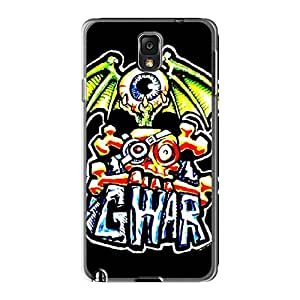 Perfect Hard Phone Cases For Samsung Galaxy Note 3 With Support Your Personal Customized Colorful Gwar Skin WayneSnook