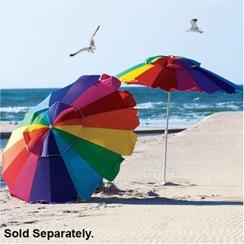 8' Beach Umbrella with Carry Bag - Towa Umbrella