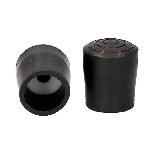 EDM Contera para andadores Negra con arandela 25mm: Amazon ...