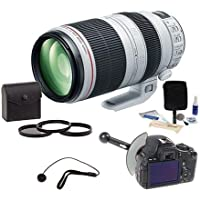 Canon EF 100-400mm f/4.5-5.6L IS II USM Lens Bundle. USA. Value Kit with Acc