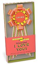 Knock Knock I Love You Personal Award Paper Ribbon
